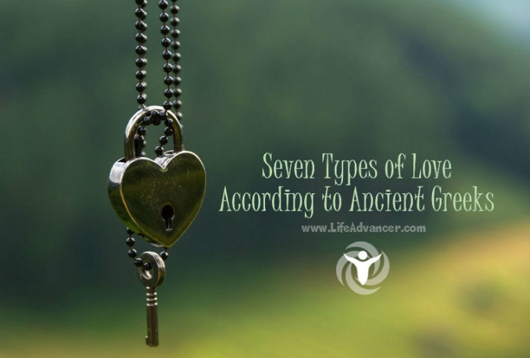 Seven Types of Love According to Ancient Greeks