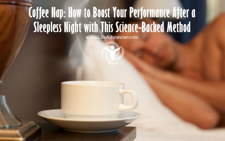 Coffee Nap: How to Boost Your Performance After a Sleepless Night with This Science-Backed Method