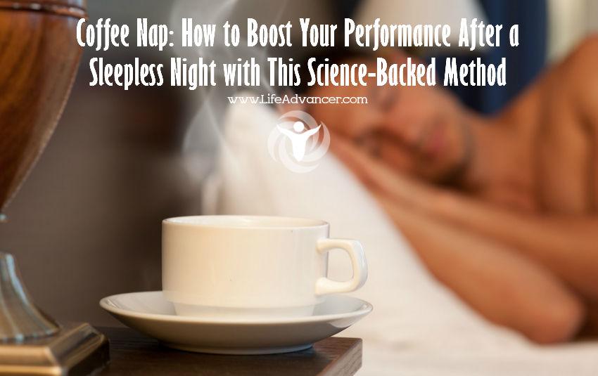 Drink Coffee Power Nap