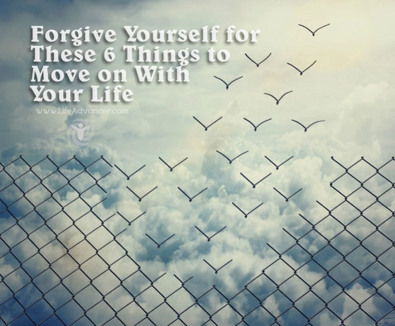 Read more about the article Forgive Yourself for These 6 Things to Move on With Your Life