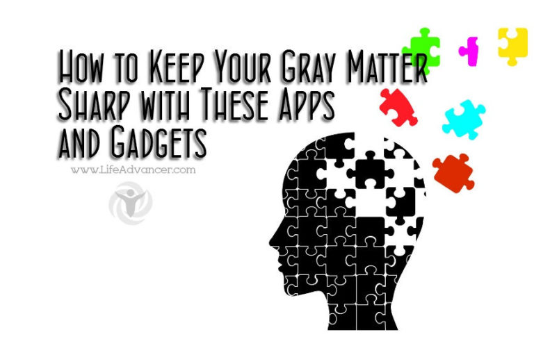 How to Keep Your Gray Matter Sharp with These Apps and Gadgets