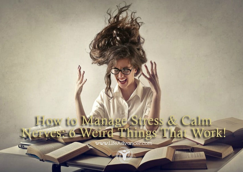 Manage Stress Calm Nerves
