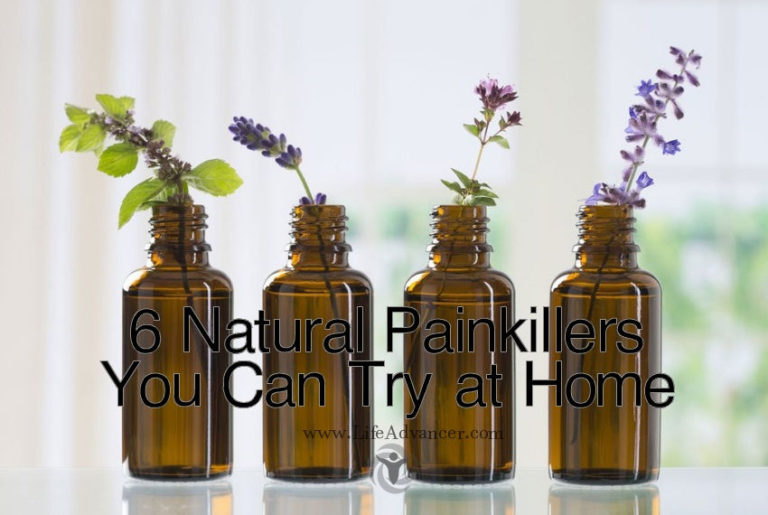 6 Natural Painkillers You Can Try at Home