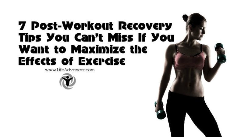 7 Post-Workout Recovery Tips You Can't Miss If You Want to Maximize the Effects of Exercise