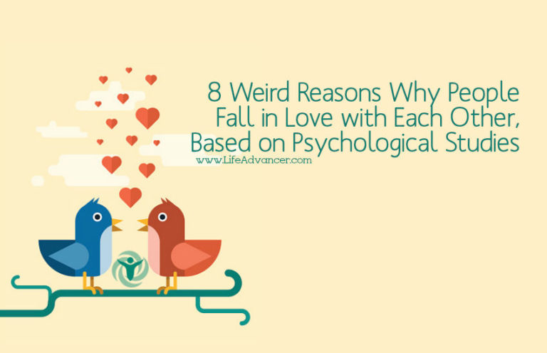 Psychology of Attraction: 8 Weird Reasons Why People Fall in Love with Each Other, Based on Studies