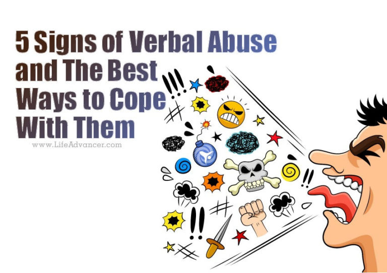 5 Signs of Verbal Abuse and the Best Ways to Cope with Them