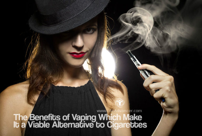 The Benefits of Vaping Which Make It a Viable Alternative to Cigarettes