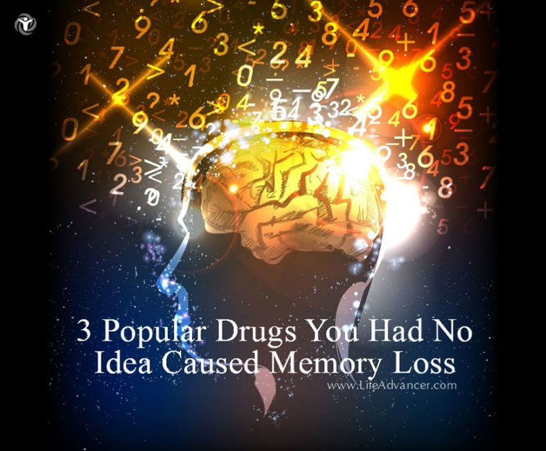 3 Popular Drugs You Had No Idea Caused Memory Loss