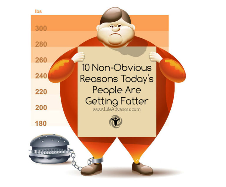 10 Non-Obvious Reasons There Are So Many Obese People Today