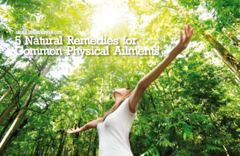5 Natural Remedies for Common Physical Ailments