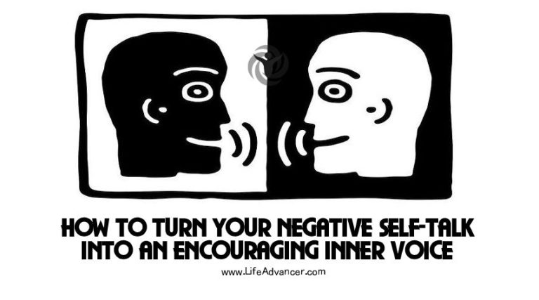 How to Turn Your Negative Self-Talk into an Encouraging Inner Voice