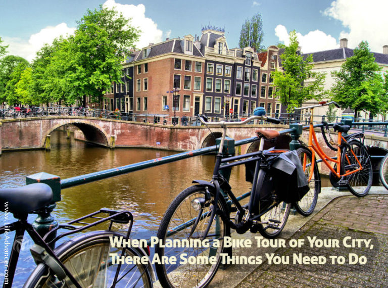 When Planning a Bike Tour of Your City, There Are Some Things You Need to Do