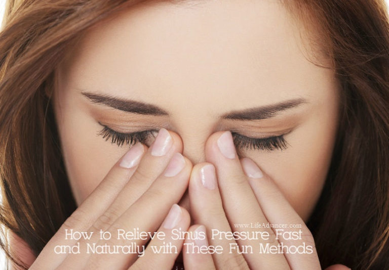 How to Relieve Sinus Pressure Fast & Naturally with These Fun Methods