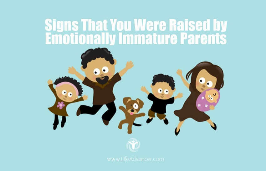 emotionally immature parents