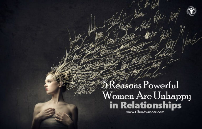 5 Reasons Powerful Women Are Unhappy in Relationships