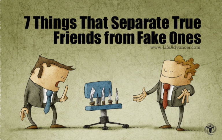 7 Things That Separate True Friends from Fake Ones