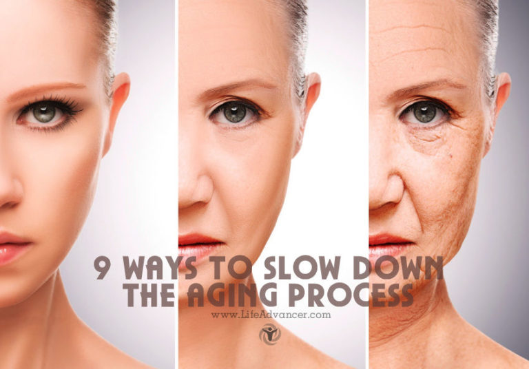 9 Ways to Slow Down the Aging Process