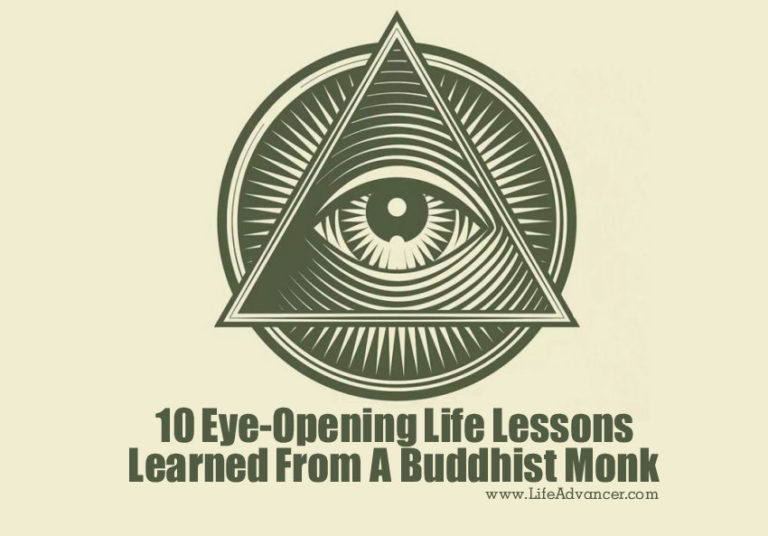 10 Eye-Opening Life Lessons Learned from a Buddhist Monk