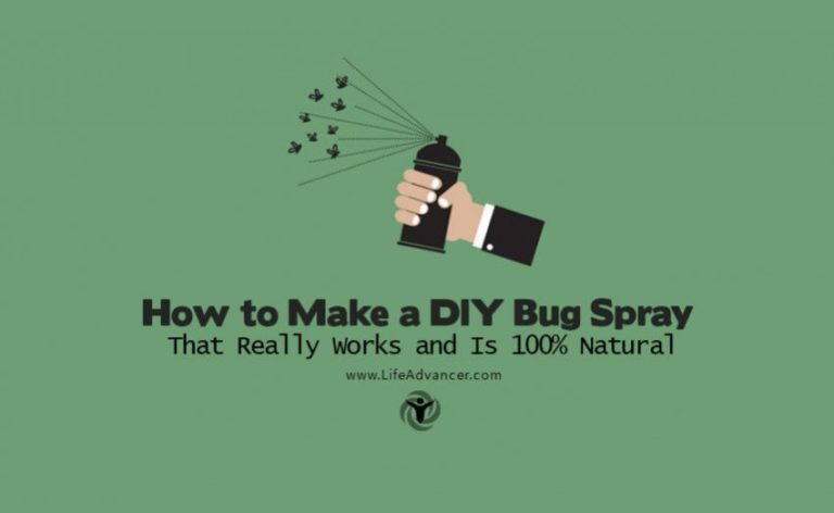 How to Make a DIY Bug Spray That Really Works and Is 100% Natural
