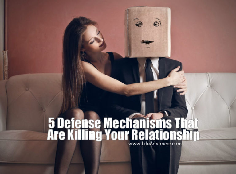 5 Defense Mechanisms That Are Killing Your Relationship