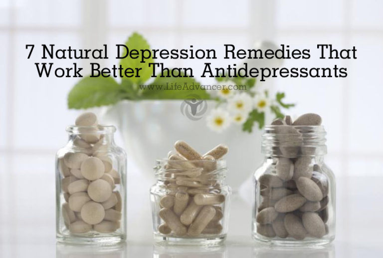 7 Natural Depression Remedies That Work Better Than Antidepressants
