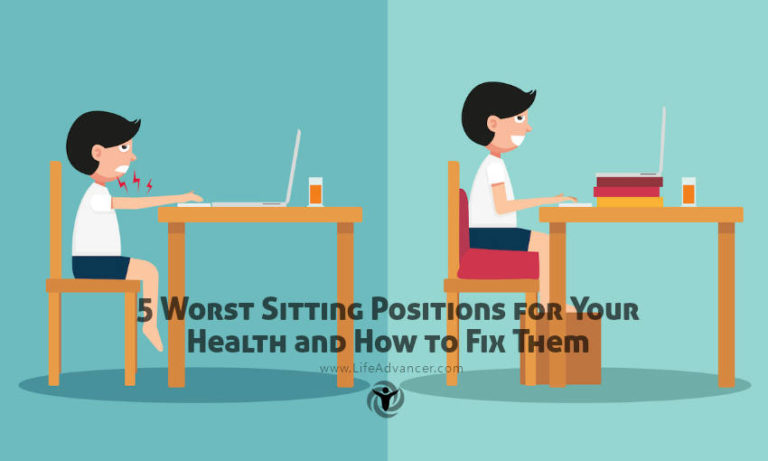 5 Worst Sitting Positions for Your Health and How to Fix Them