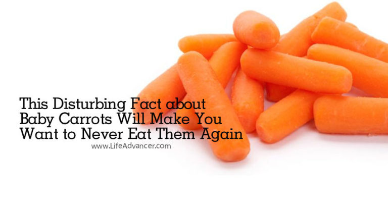 This Disturbing Fact about Baby Carrots Will Make You Want to Never Eat Them Again