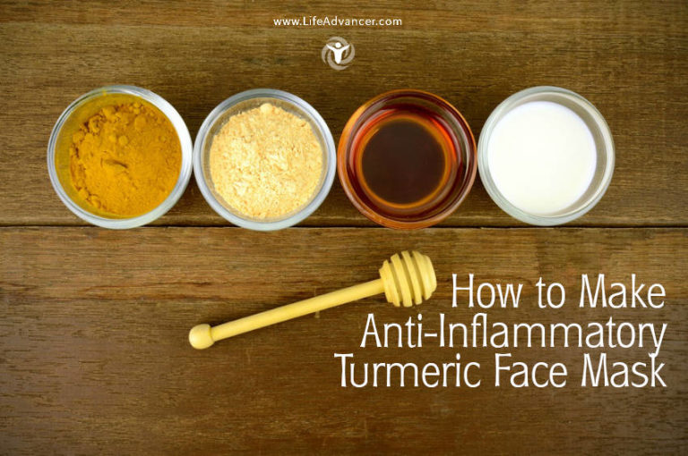 How to Make Anti-Inflammatory Turmeric Face Mask