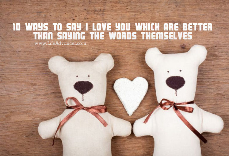 Read more about the article 10 Ways to Say I Love You Which Are Better Than Saying the Words Themselves