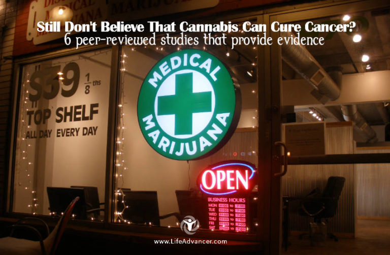 Still Don't Believe That Cannabis Can Cure Cancer? 6 Peer-Reviewed Studies That Provide Evidence