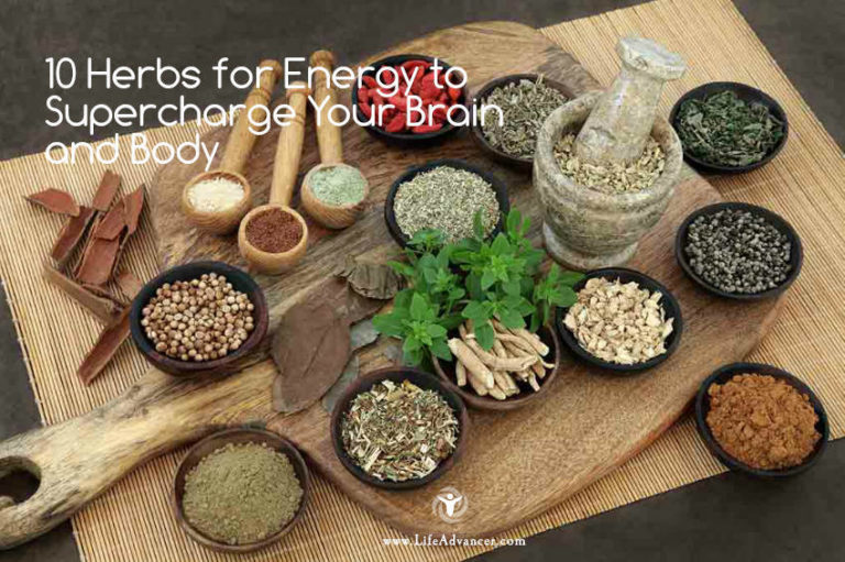 10 Herbs for Energy to Supercharge Your Brain and Body