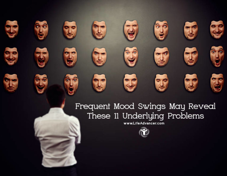 Frequent Mood Swings May Reveal These 11 Underlying Problems