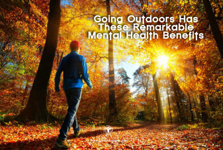 Going Outdoors and Its Mental Health Benefits – Infographic