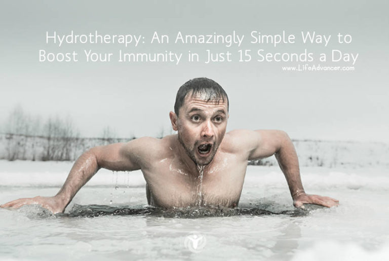 Hydrotherapy: an Amazingly Simple Way to Boost Your Immunity in Just 15 Seconds a Day