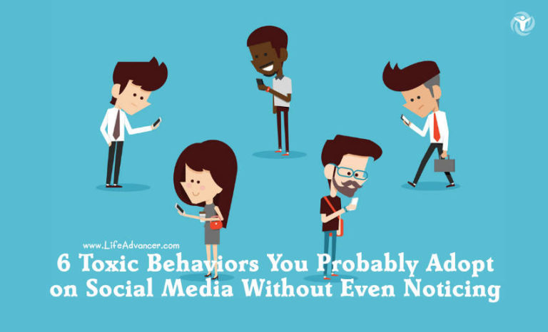 6 Toxic Behaviors Social Media Users Adopt Without Even Noticing