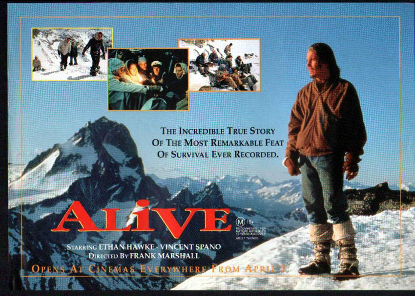 best true story movies - Alive (1993)