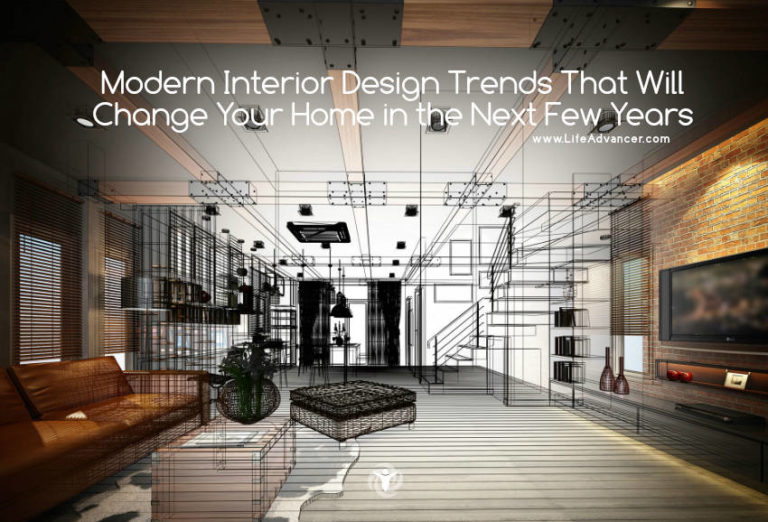 Modern Interior Design Trends That Will Change Your Home in the Next Few Years