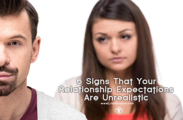Read more about the article 6 Signs That Your Relationship Expectations Are Unrealistic