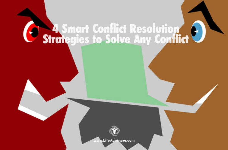 4 Smart Conflict Resolution Strategies to Solve Any Conflict