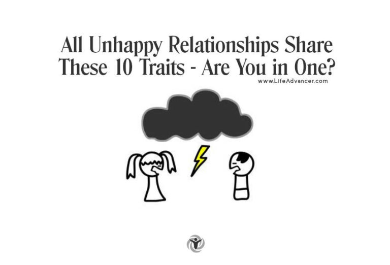 All Unhappy Relationships Share These 10Traits – Are You in One?