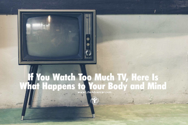 If You Watch Too Much TV, Here Is What Happens to Your Body and Mind
