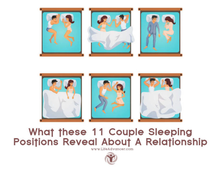 11 Couple Sleeping Positions and What They Reveal about a Relationship