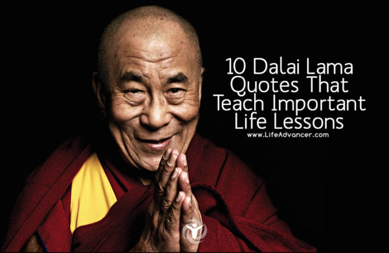 10 Dalai Lama Quotes That Teach Important Life Lessons