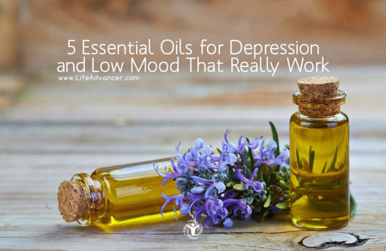 5 Essential Oils for Depression and Low Mood That Really Work