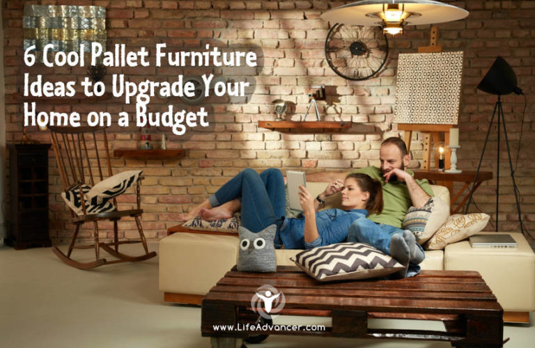 6 Cool Pallet Furniture Ideas to Upgrade Your Home on a Budget