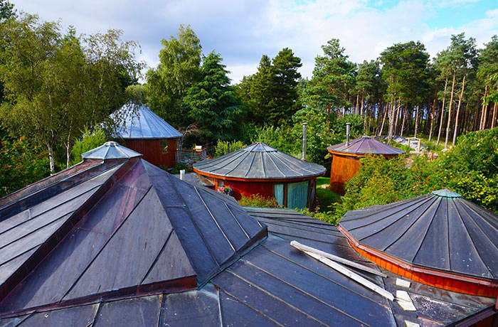 01-Findhorn eco-village, Scotland ecological-building
