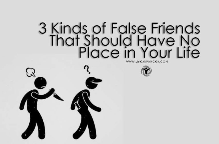 Read more about the article 3 Kinds of False Friends That Should Have No Place in Your Life
