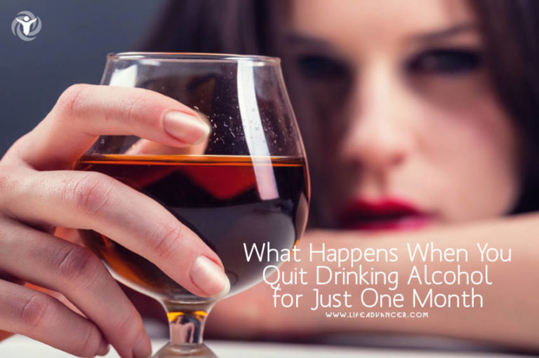 What Happens When You Quit Drinking Alcohol for Just One Month