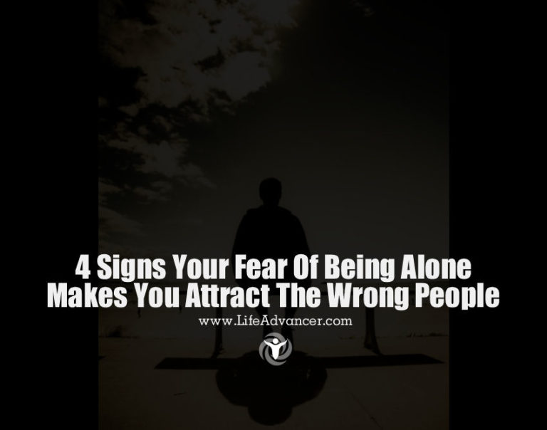 4 Signs Your Fear of Being Alone Makes You Attract the Wrong People
