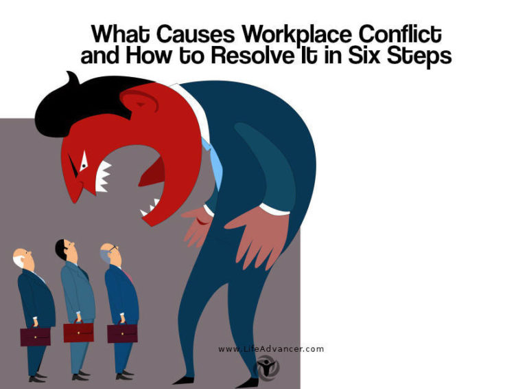 What Causes Workplace Conflict and How to Resolve It in Six Steps